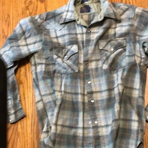 Awesome Pendleton wool flannel large